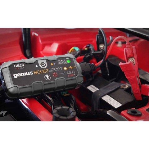 Пускозарядное устройство для автомобильного аккумулятора GB20 Превью 5