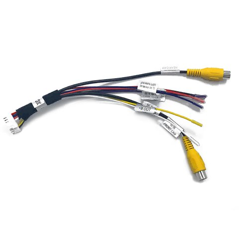 Front and Rear View Camera Connection Adapter for Porsche with PCM 4.0 system Preview 4