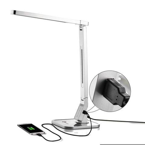 Настольная бестеневая лампа TaoTronics TT-DL07, серебристая, EU Превью 2