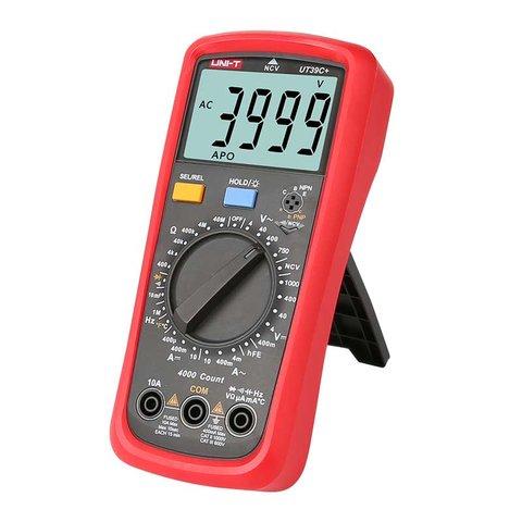 Цифровий мультиметр UNI-T UTM 139C+ (UT39C+) Прев'ю 3