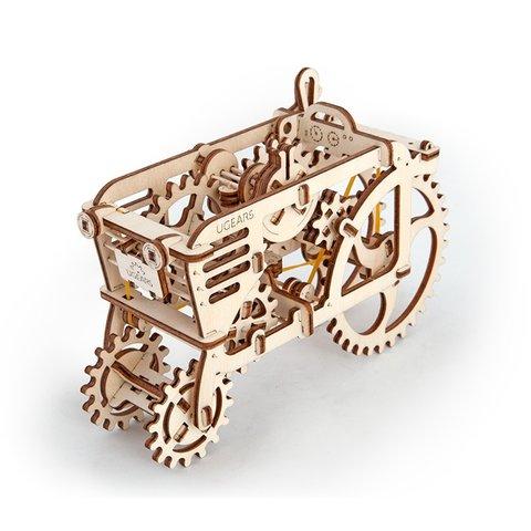 Механічний 3D-пазл UGEARS Трактор - /*Photo|product*/