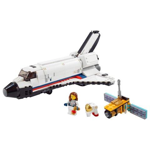 Конструктор LEGO Creator Пригоди на космічному шатлі 31117 Прев'ю 1